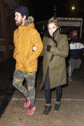 Kate Hudson - Exits The Crosby Street Hotel in NYC 01/10/2019