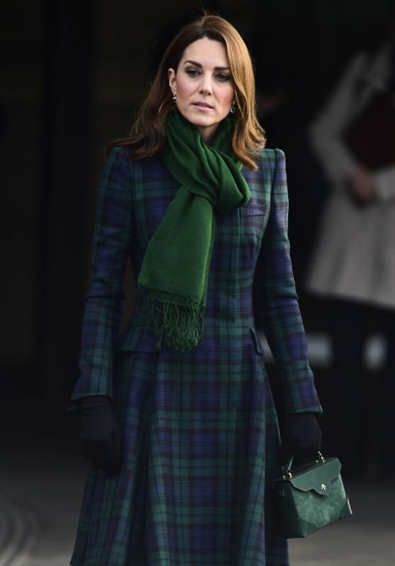 Kate Middleton - Opens V&A Dundee 01/29/2019