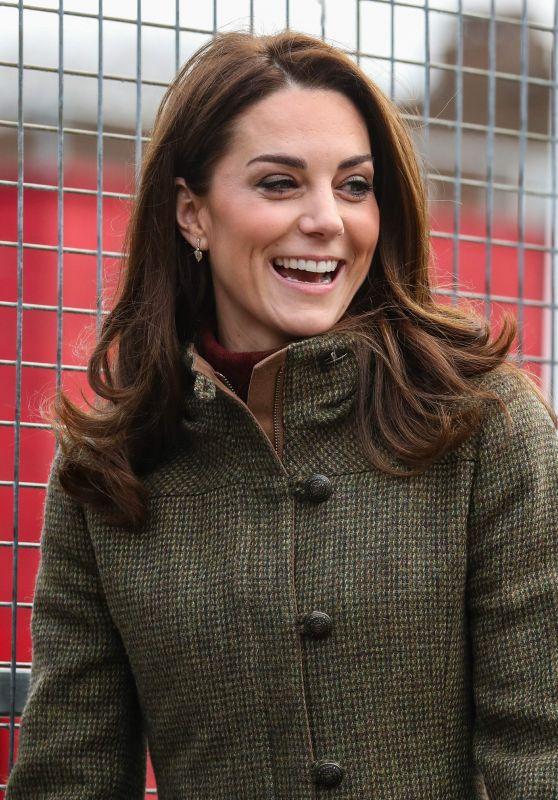 Kate Middleton - Visits the King Henry's Walk Garden in Islington 01/15/2019