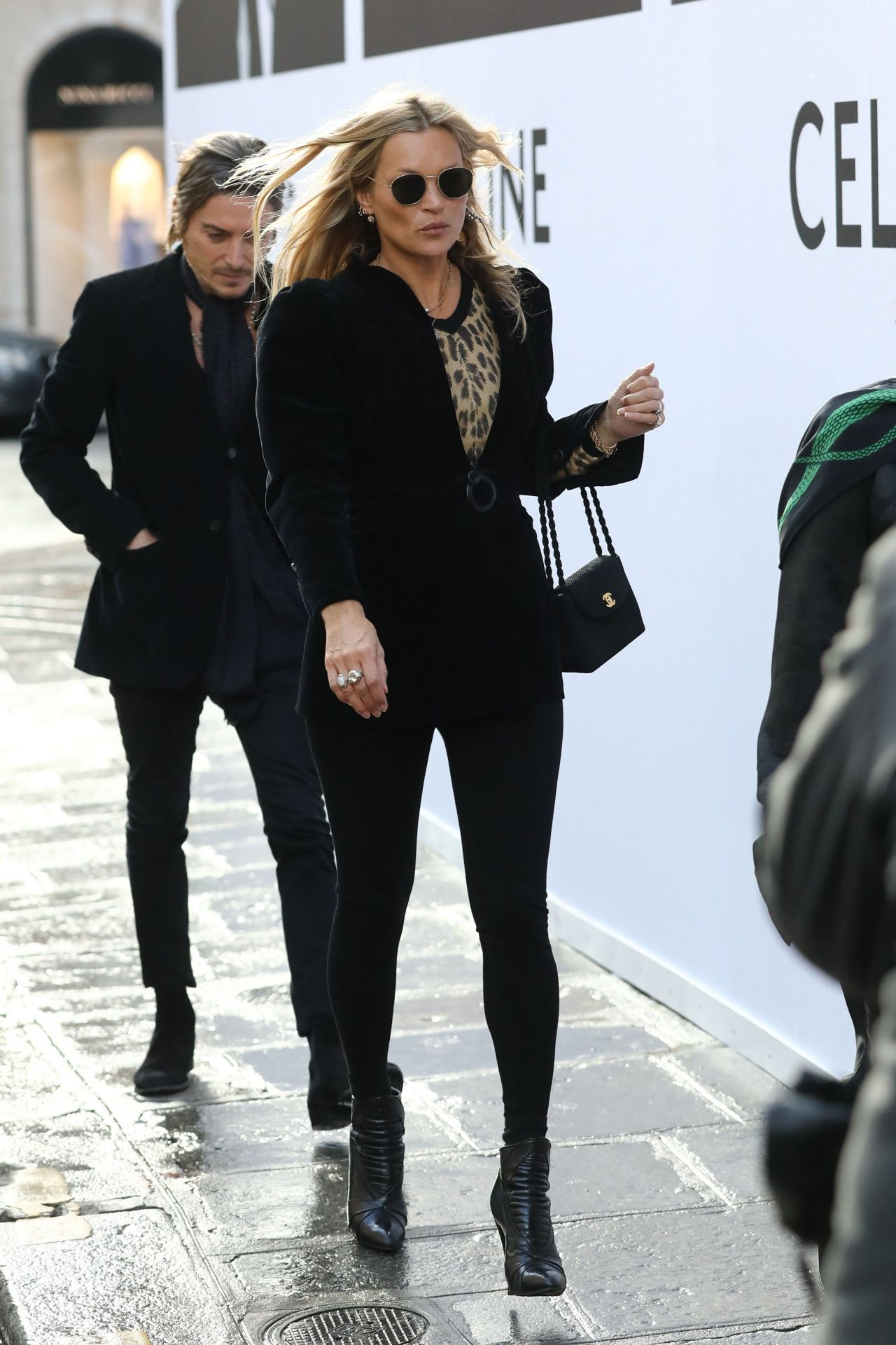 Kate Moss Is Stylish Out In Paris 01 17 2019
