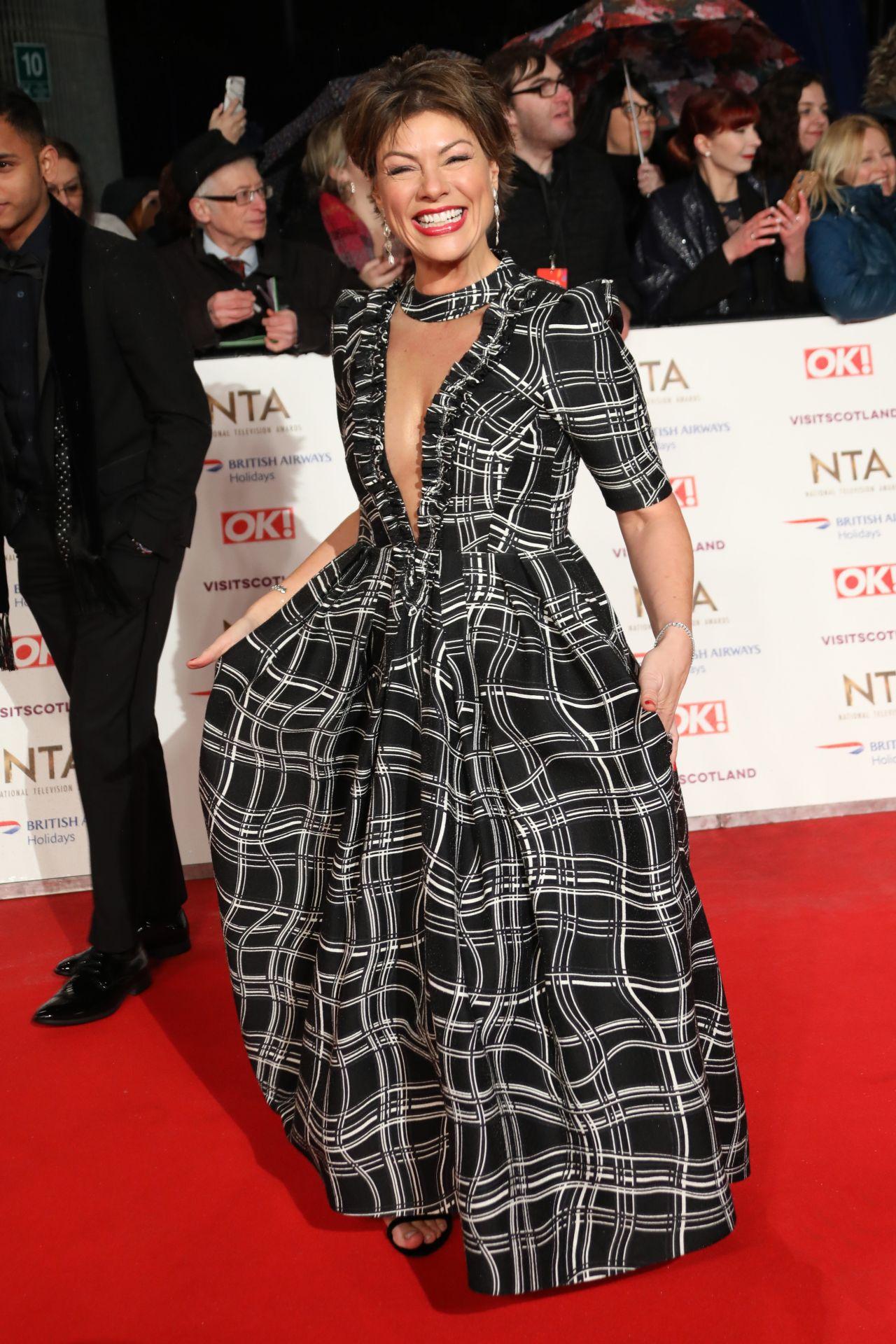 Airport Kia London >> Kate Silverton – National Television Awards 2019