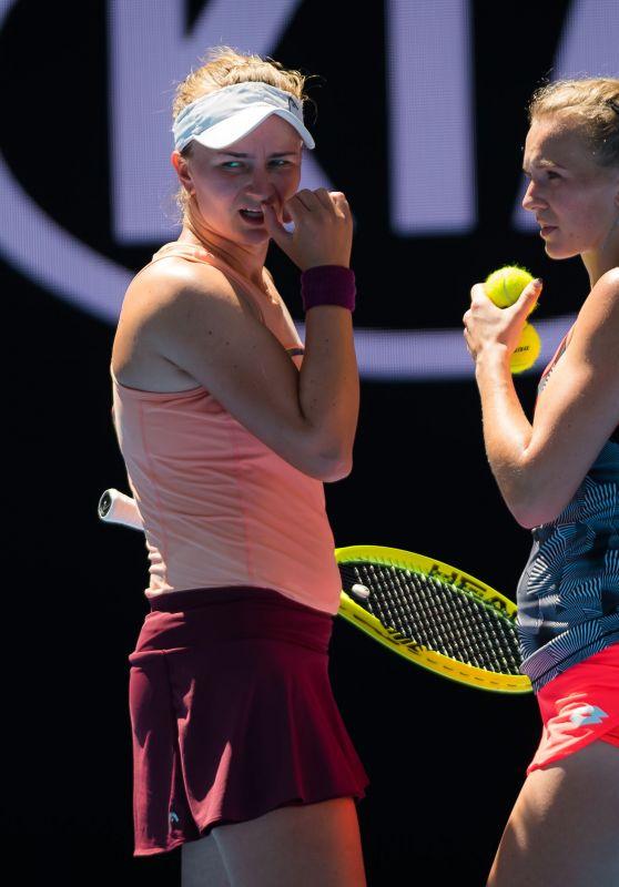 Katerina Siniakova and Barbora Krejcikova – Australian Open 01/21/2019