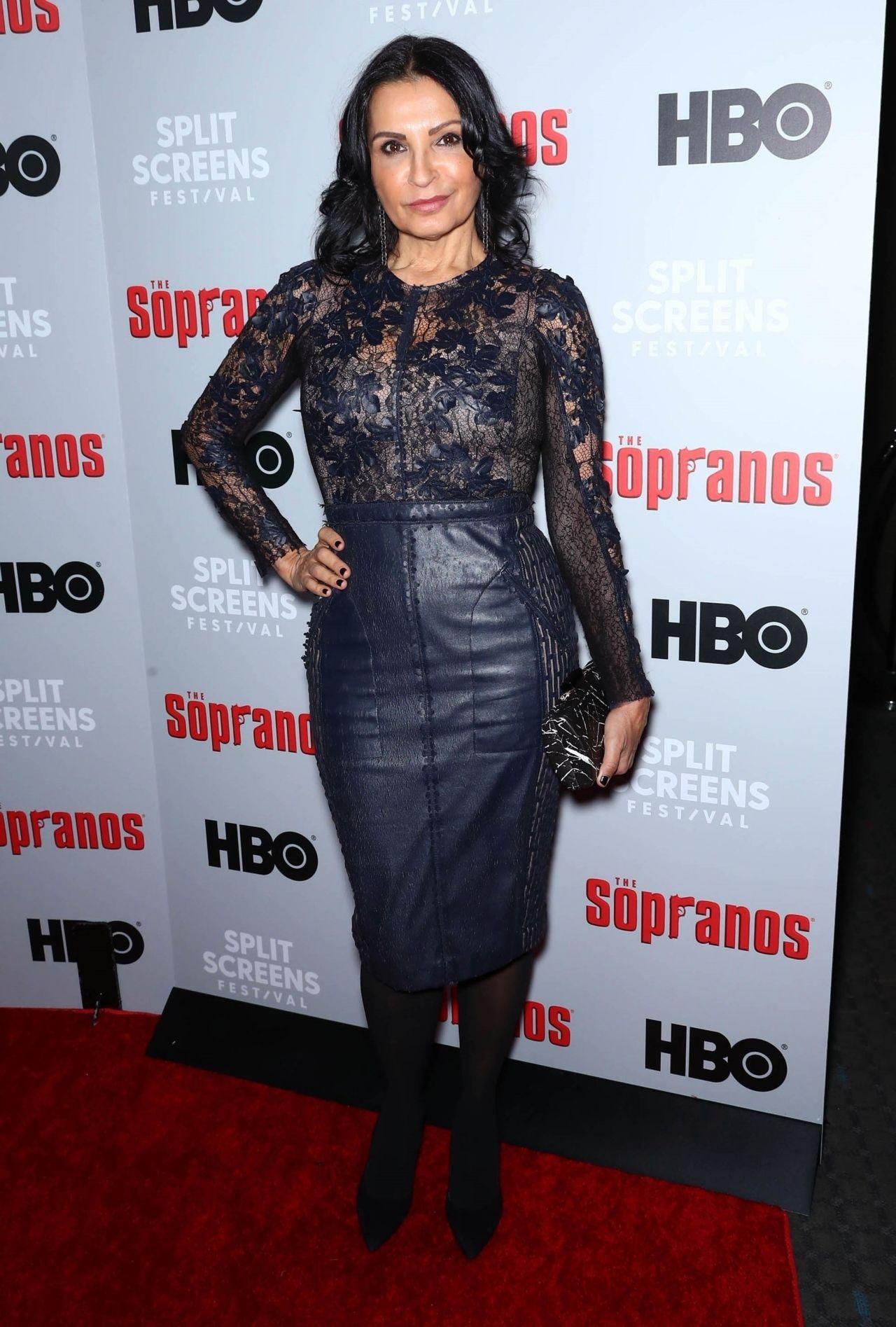 Kathrine Narducci – The Sopranos 20th Anniversary Panel ... Kathrine Narducci Sopranos