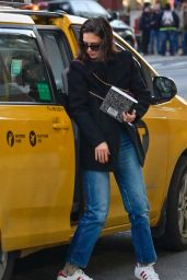 Katie Holmes - Out in Manhattan 01/14/2019