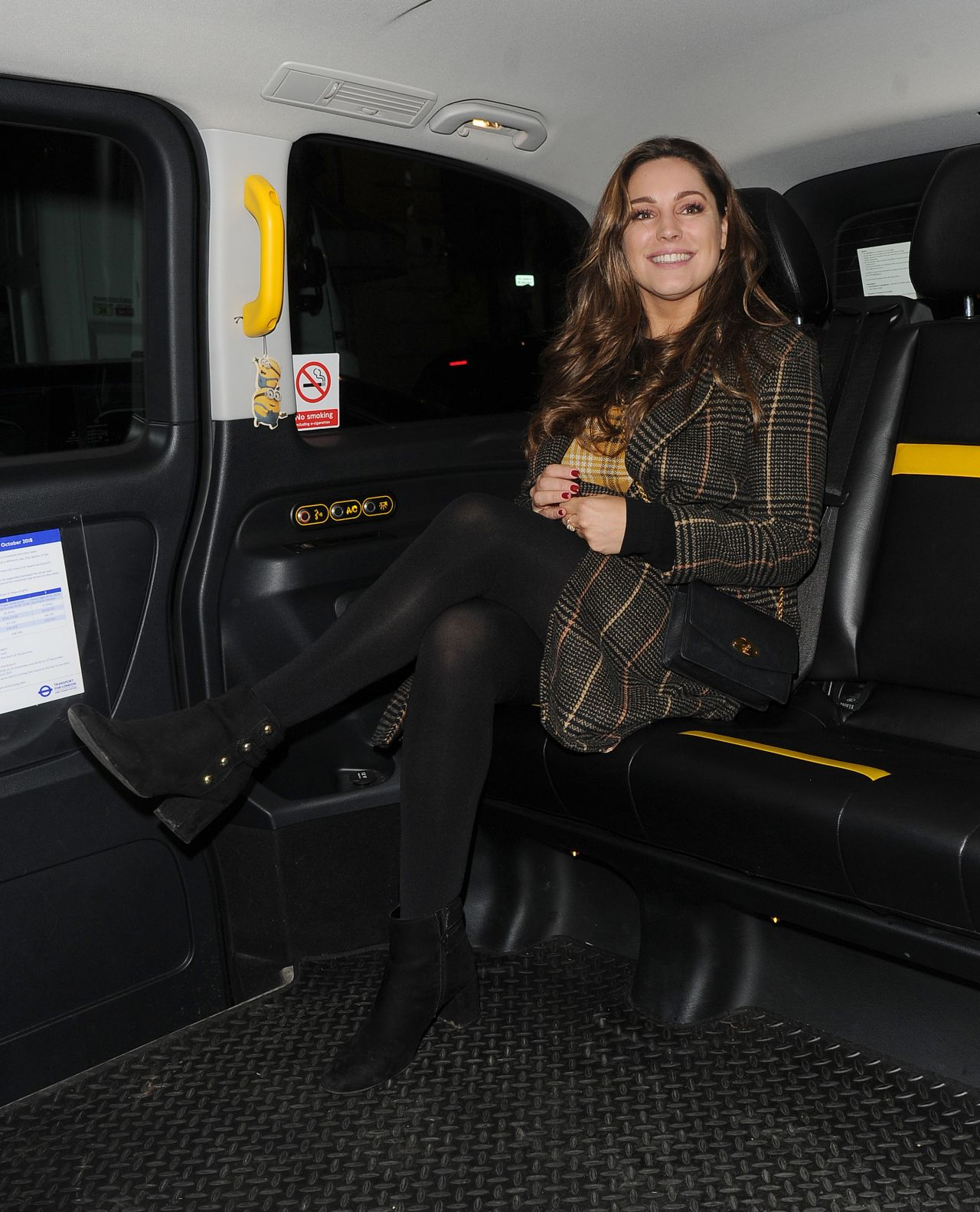 Kelly Brook Night Out Style 01/17/2019