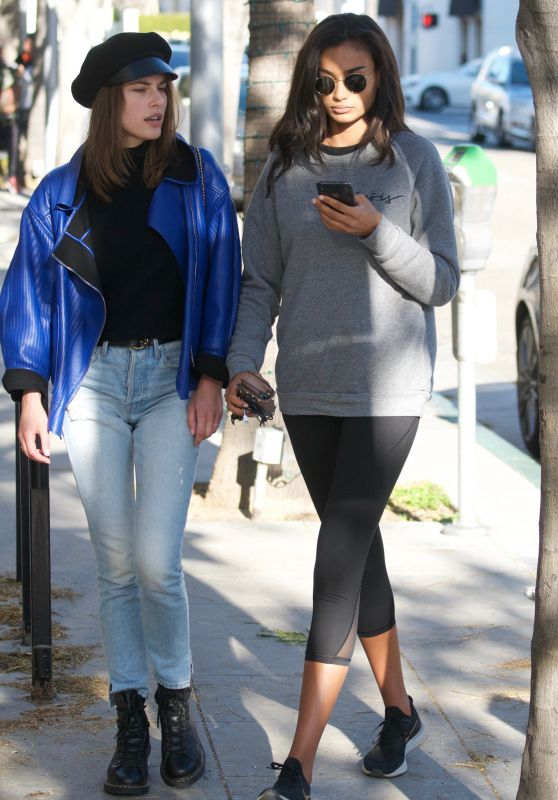 Kelly Gale - Shopping in Beverly Hills 01/21/2019