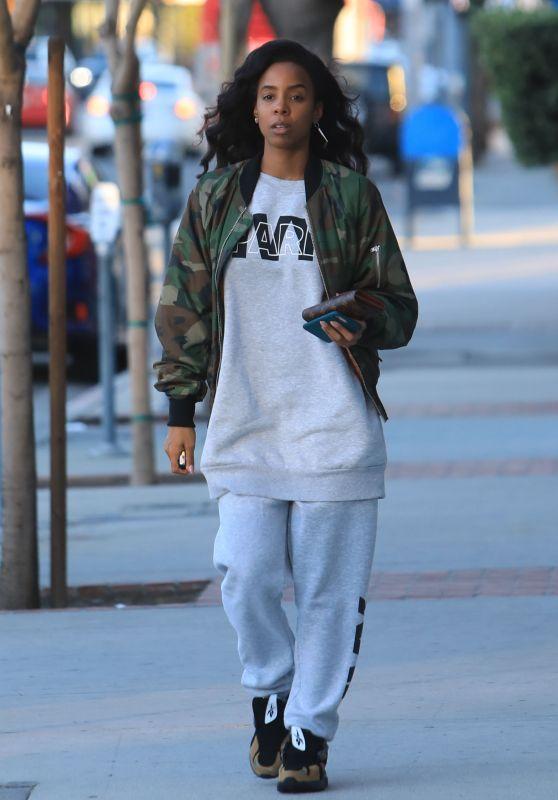 Kelly Rowland Street Style 01/01/2019