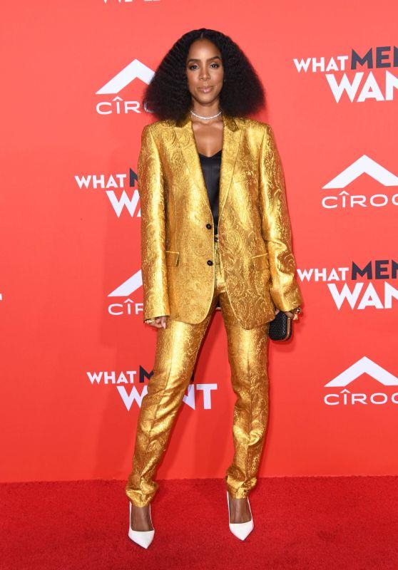 """Kelly Rowland – """"What Men Want"""" Premiere in LA"""