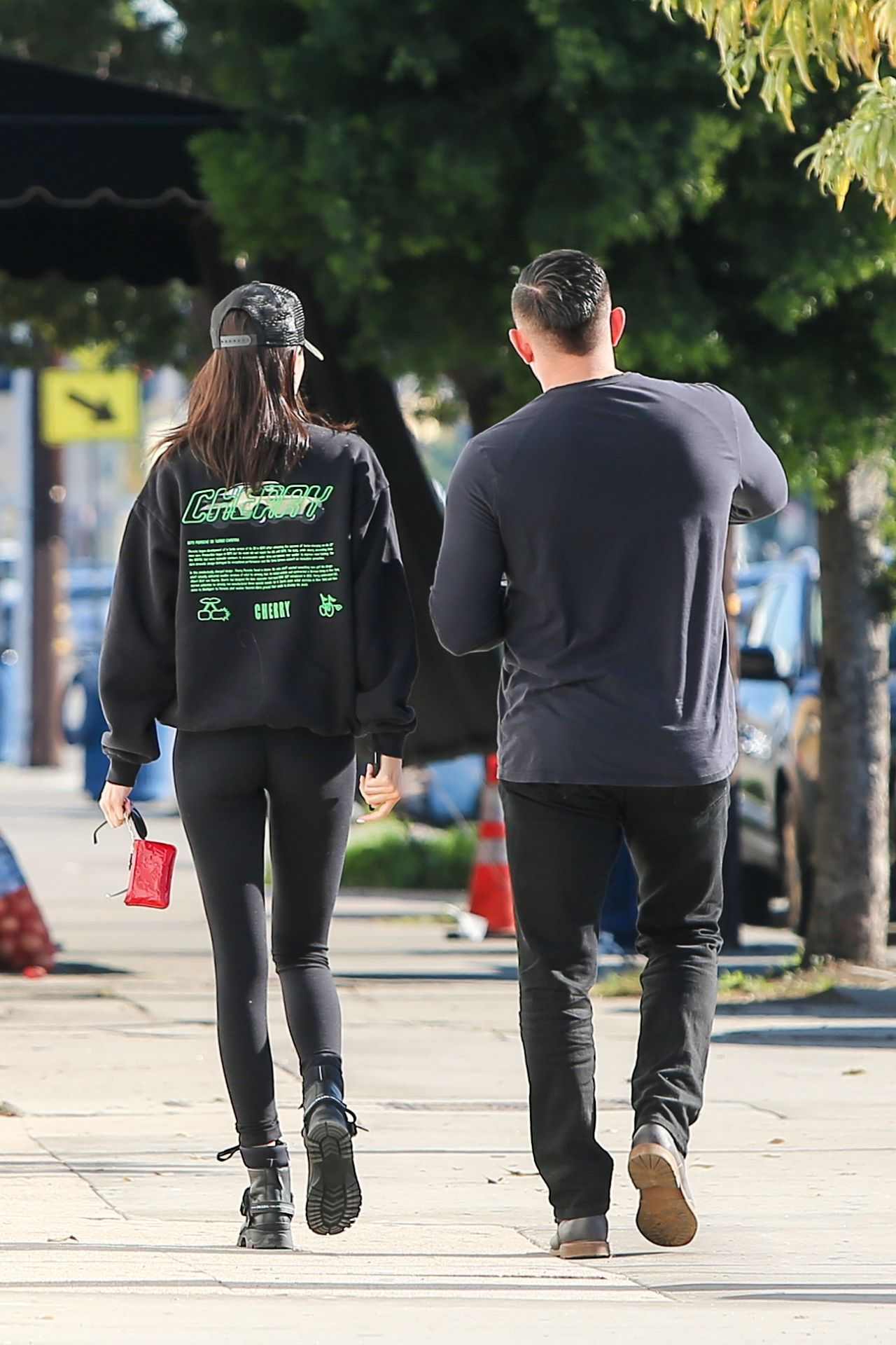 Kendall Jenner Booty In Tights 01 09 2019