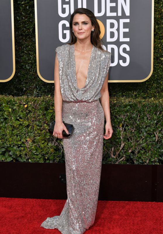 Keri Russell – 2019 Golden Globe Awards Red Carpet