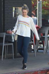 Kristen Bell in Tights - Leaving a Pilates Class in Los Feliz 01/22/2019