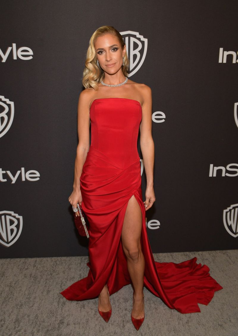 Kristin Cavallari Instyle And Warner Bros Golden Globe