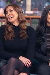 Kym Marsh and Daughter Emilie Cunliffe - This Morning TV Show 01/04/2019
