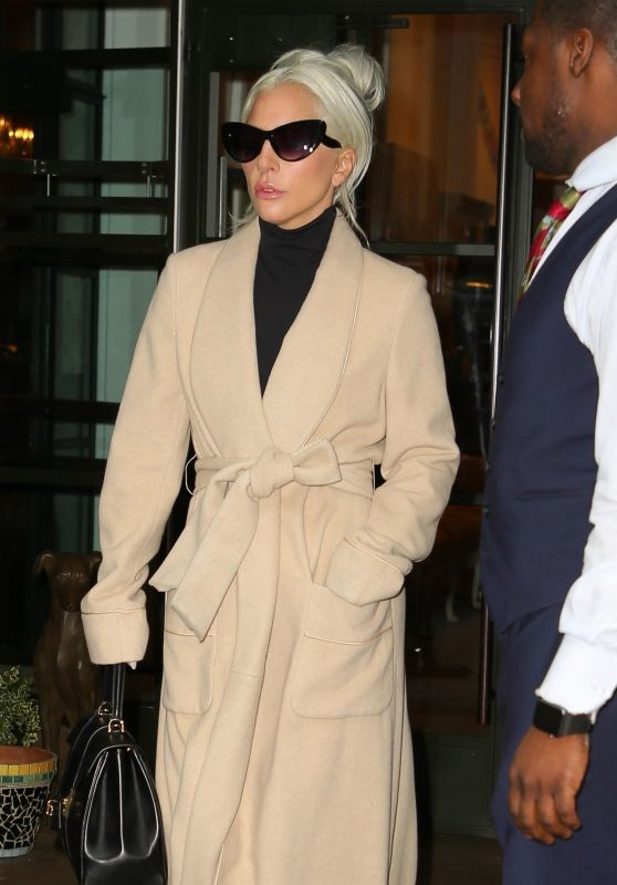 Lady Gaga Style and Fashion - NYC 01/09/2019