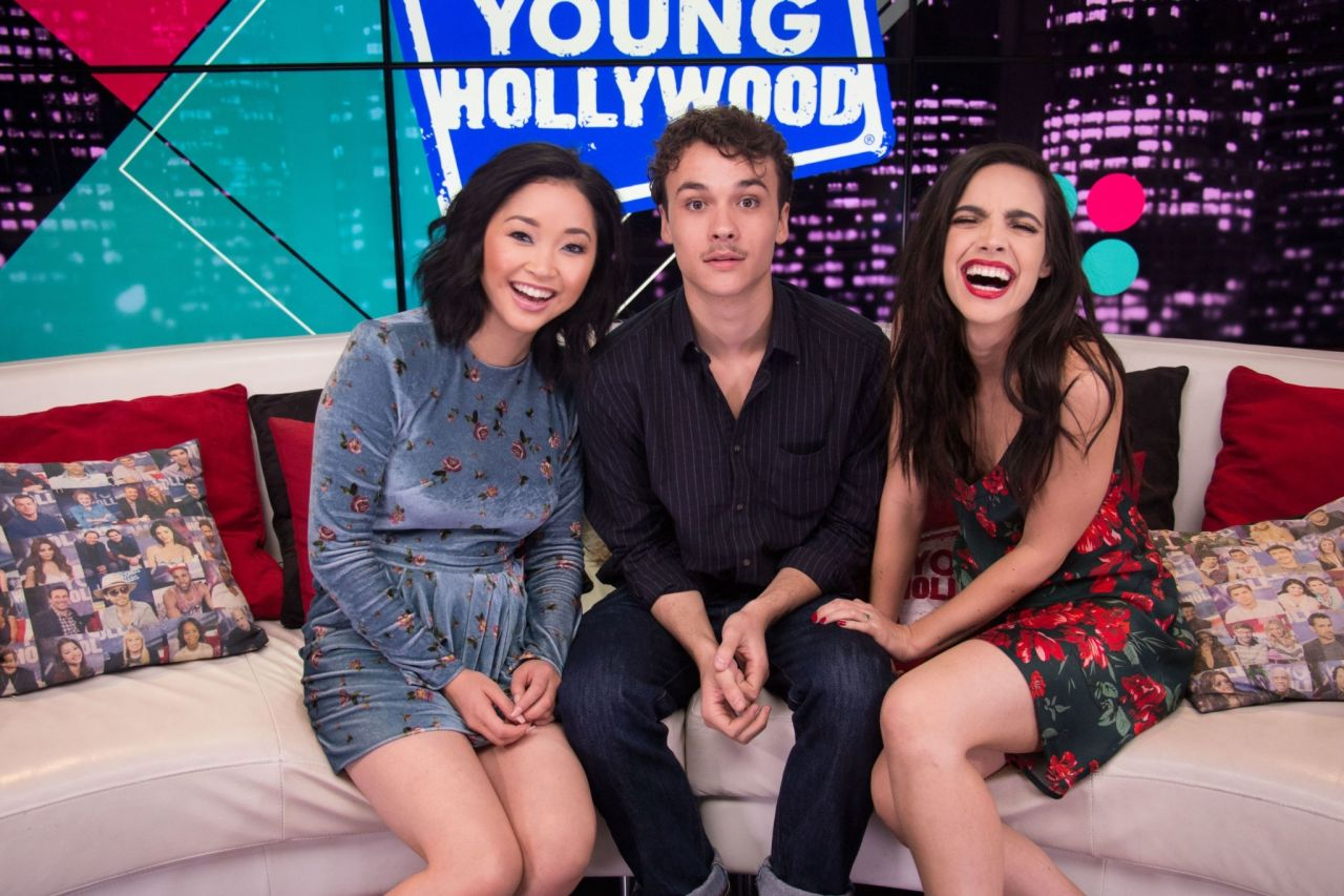 Lana Condor - Deadly Class Cast Visit Young Hollywood Studio in LA