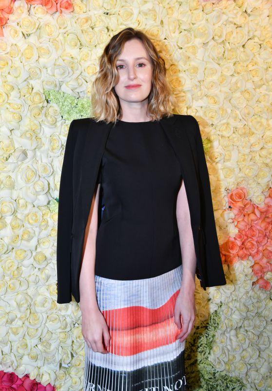 Laura Carmichael – Schiaparelli Haute Couture Fashion Show in Paris 01/21/2019