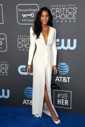 Laura Harrier – 2019 Critics' Choice Awards