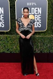 Laura Harrier – 2019 Golden Globe Awards Red Carpet
