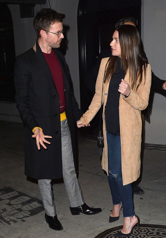 Lea Michele and Her Fiancee Zandy Reich at Craig