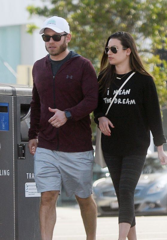 Lea Michele and Zandy Reich - Shopping in Los Angeles 01/26/2019