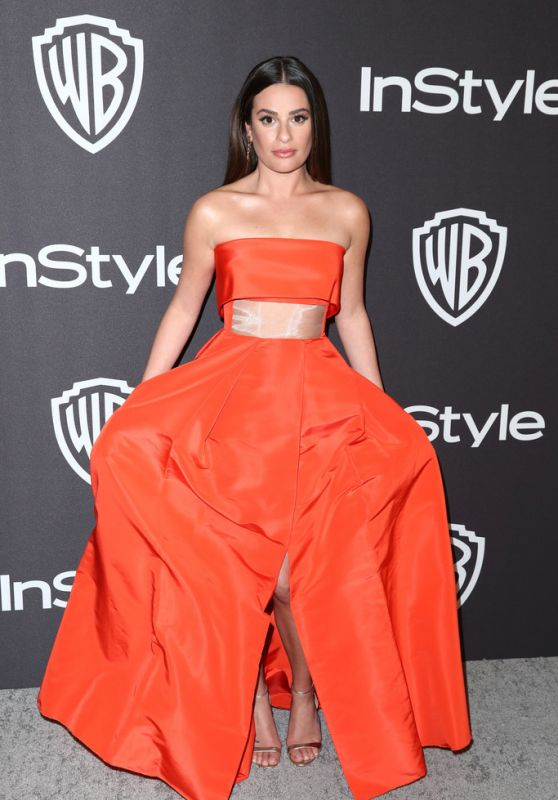 Lea Michele – InStyle and Warner Bros Golden Globes 2019 After Party