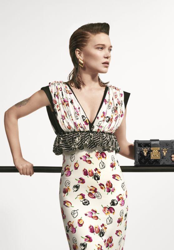 Lea Seydoux – Louis Vuitton Spring 2019 Campaign
