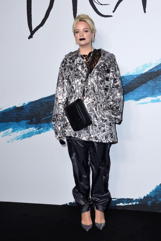 Lily Allen Dior Homme Menswear Show In Paris 01 18 2019