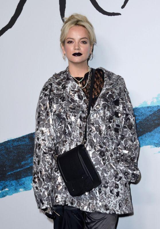 Lily Allen – Dior Homme Menswear Show in Paris 01/18/2019