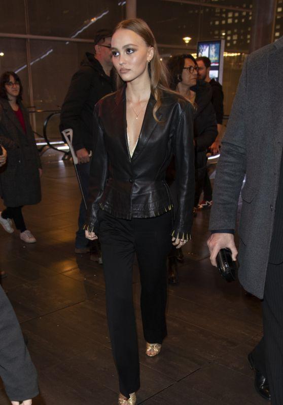 """Lily-Rose Depp - """"Les Fauves"""" Premiere in Paris"""