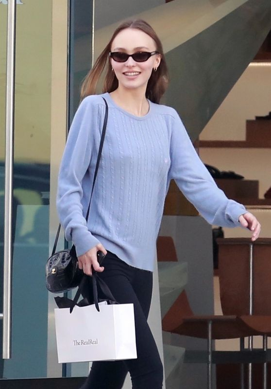 Lily-Rose Depp - Shopping in West Hollywood 01/26/2019