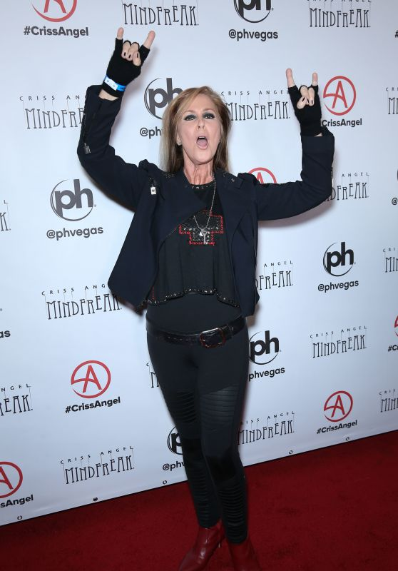 Lita Ford – Grand Opening of MINDFREAK in Las Vegas 01/19/2019