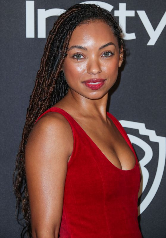 Logan Browning – InStyle and Warner Bros Golden Globe 2019 After Party
