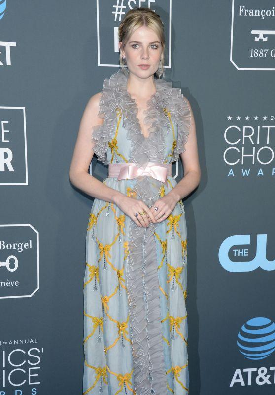 Lucy Boynton – 2019 Critics' Choice Awards
