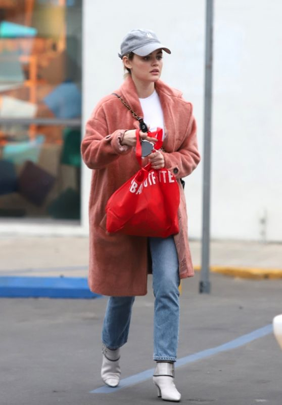 Lucy Hale in Casual Outfit 01/06/2019