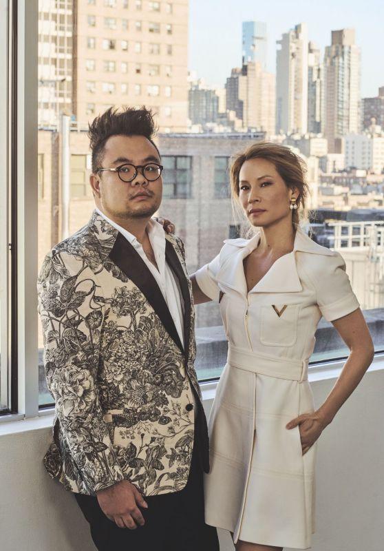 Lucy Liu and Ryan Su - Prestige Singapore January 2019