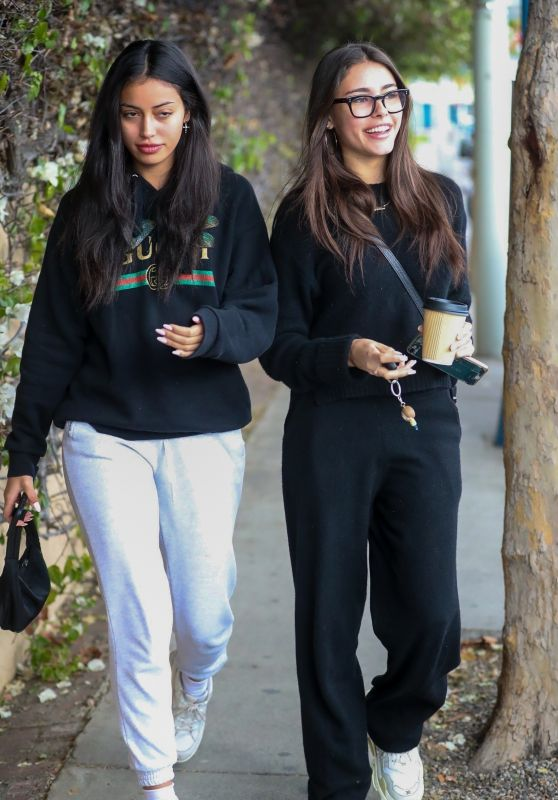 Madison Beer and Cindy Kimberly - Melrose Place, West Hollywood 12/31/2018