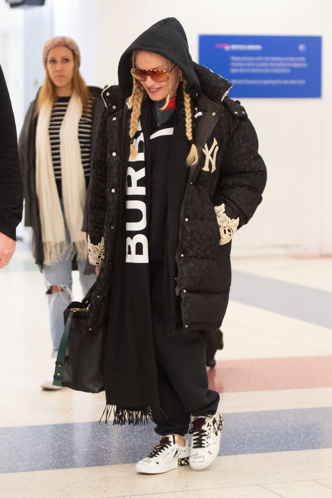 Madonna Winter Style 01282019