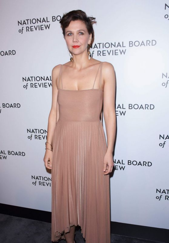 Maggie Gyllenhaal – 2019 National Board of Review Awards Gala in New York