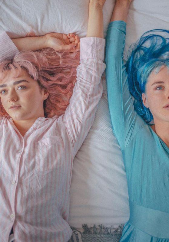 Maisie Williams and Sara Herrlander - Photoshoot January 2019