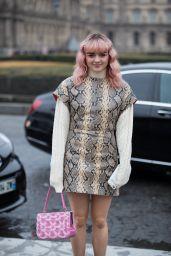 Maisie Williams - Kenzo Fashion show in Paris 01/20/2019
