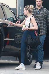 Margot Robbie in Tights - Los Angeles 01/13/2019
