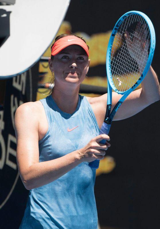 Maria Sharapova – Australian Open 01/14/2019