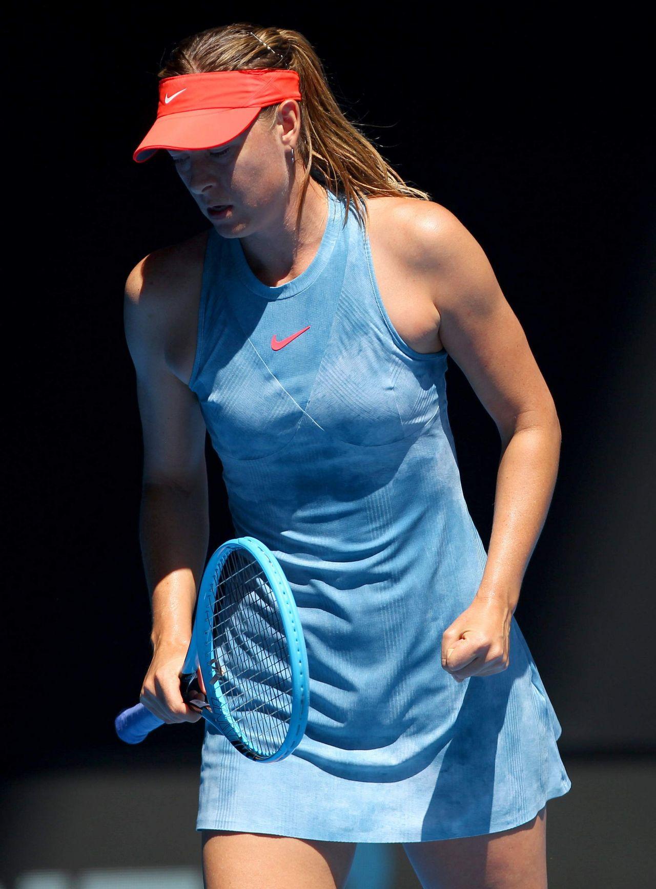 Maria Sharapova Australian Open 01 14 2019