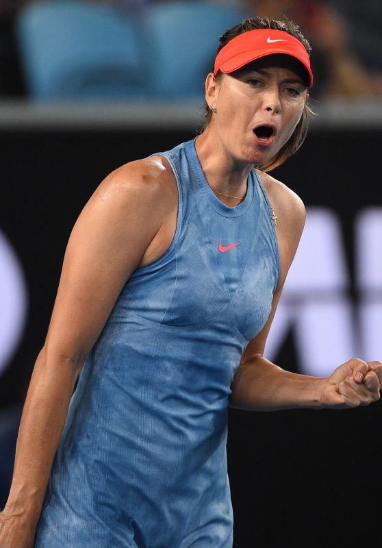 Maria Sharapova – Australian Open 01/16/2019