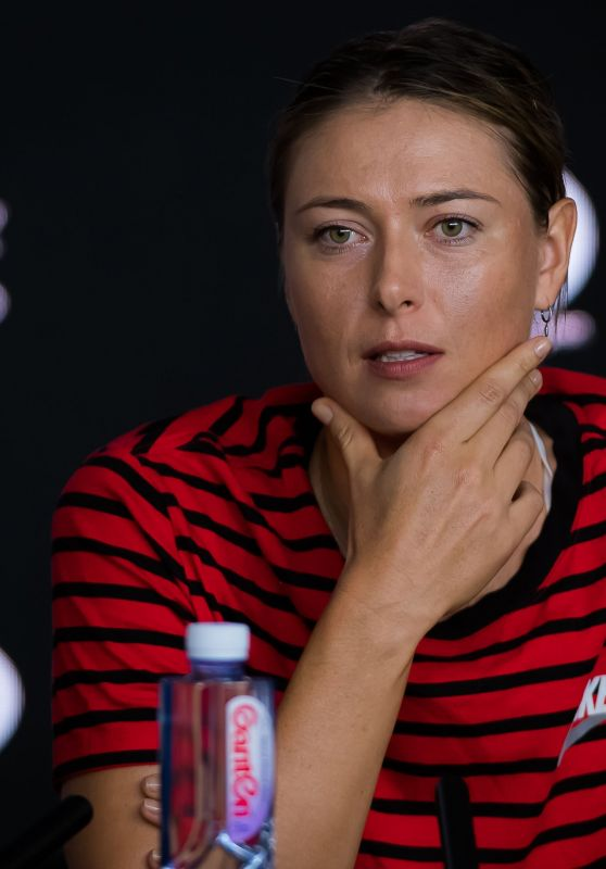 Maria Sharapova - Media Day Ahead of the 2019 Australian Open