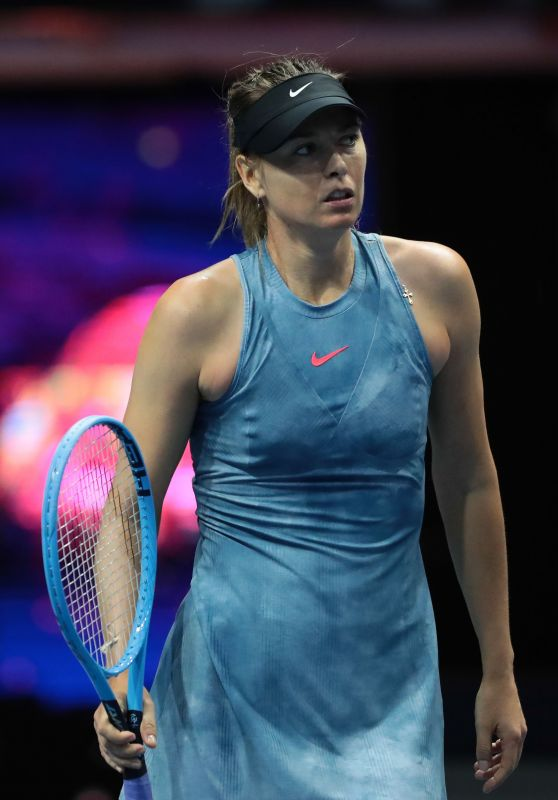 Maria Sharapova - WTA St. Petersburg Ladies Trophy 01/28/2019