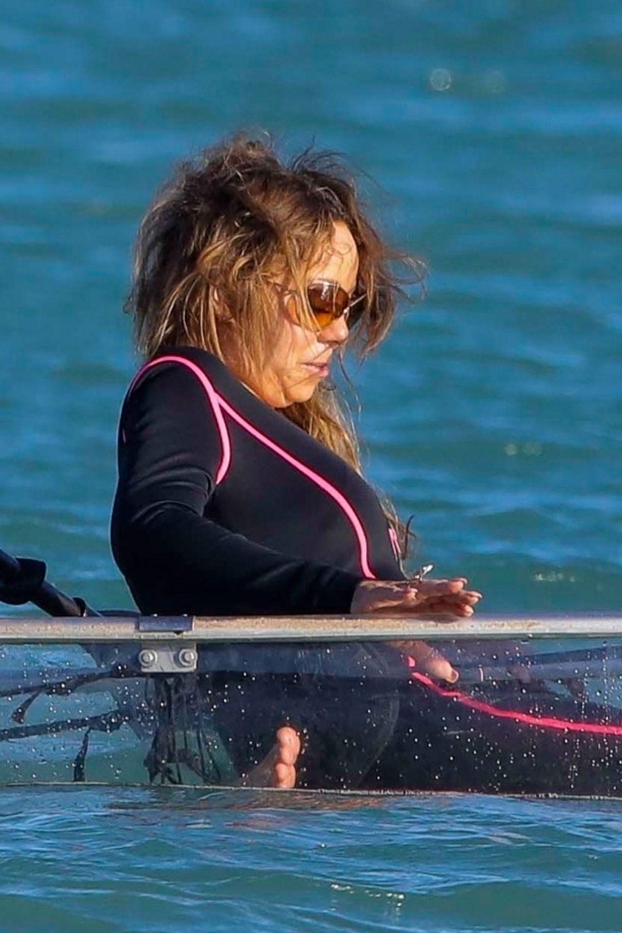 Mariah Carey In St Barth 01 03 2018