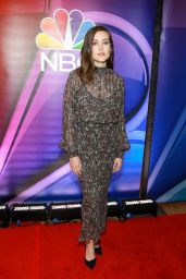 Megan Boone – NBC's NY Mid Season Press Junket 01/24/2019