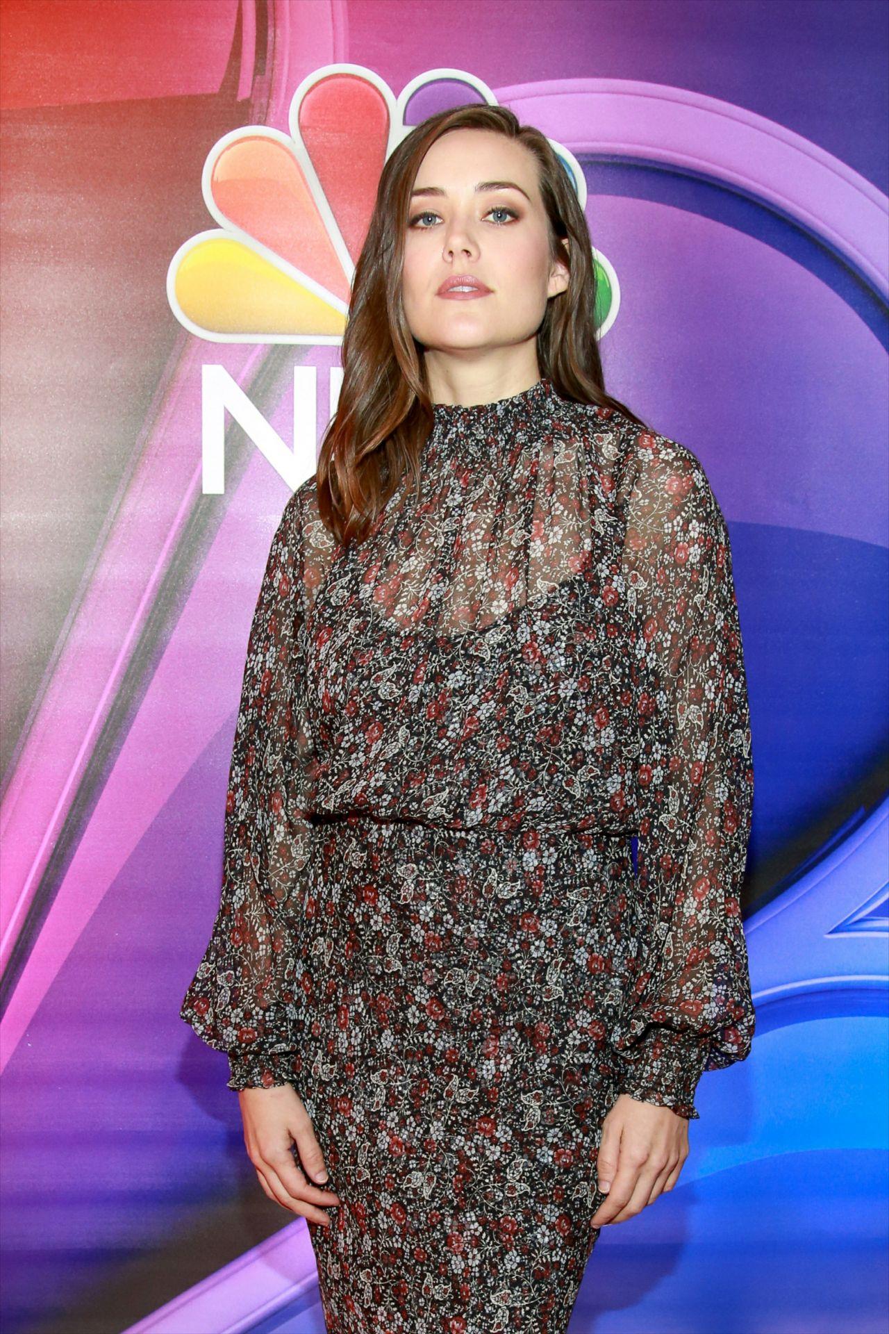 Megan Boone Nbc S Ny Mid Season Press Junket 01 24 2019