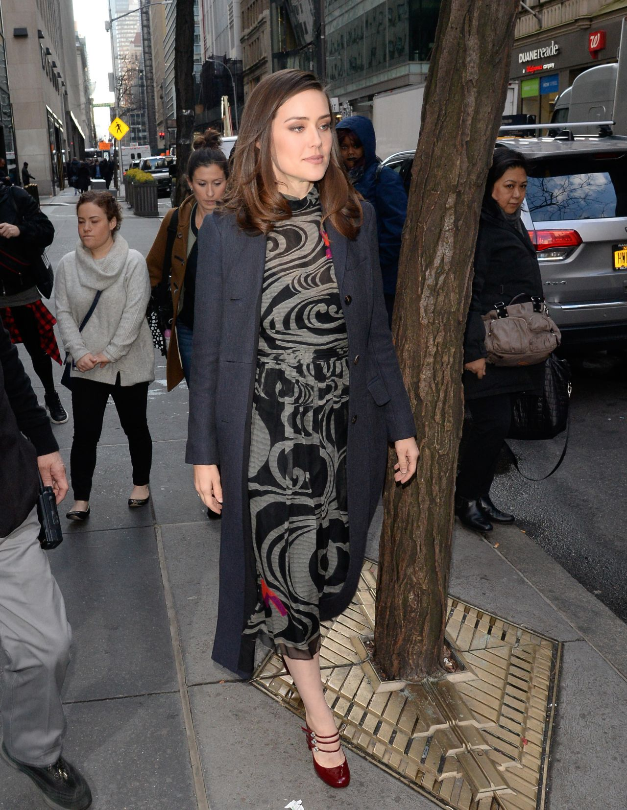 Megan Boone – Outside The Today Show in New York 01/09/2019